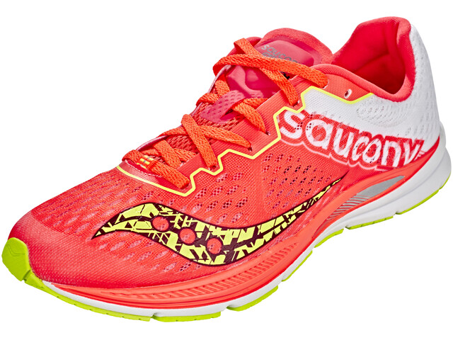 saucony Fastwitch 8 - Chaussures running Femme - jaune/rouge